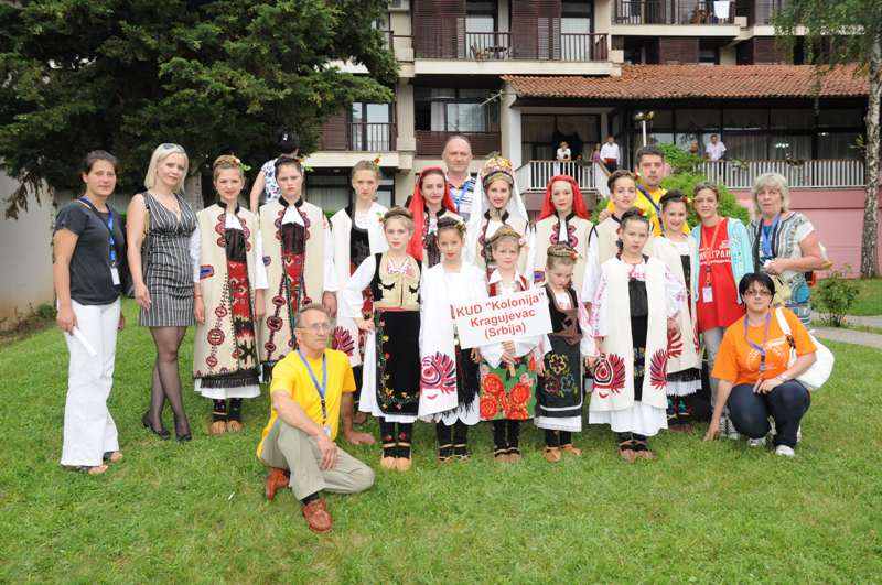 Marina Mia Končar (Ohrid, festival folklora)