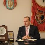 Dragan Jovanović,  predsednik opstine Topola