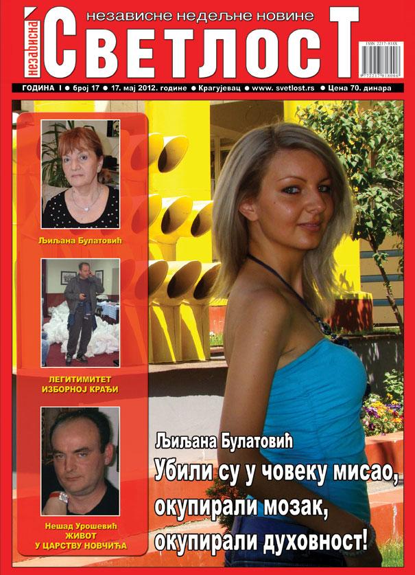 intervju ljiljana bulatovic