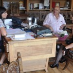 "Dragana Boceska direktor NU Centra za kulturu ""Grigor Prličev"" Ohrid, Prof. dr Pavle Mitreski istoričar"