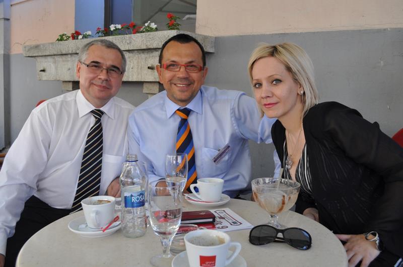 Jaroslav Plachy - poslanik vladajuce stranke češkog parlamenta, Foldyna Jaroslav, poslanik češkog parlamenta i Marina Mia Koncar