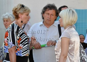 Radojica Kuzmanović, Katarina Mirović, Marina Mia Končar