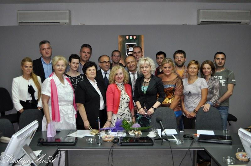 Učesnici okruglog stola u Kragujevcu